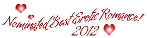 Nominated Best Erotic Romance 2012